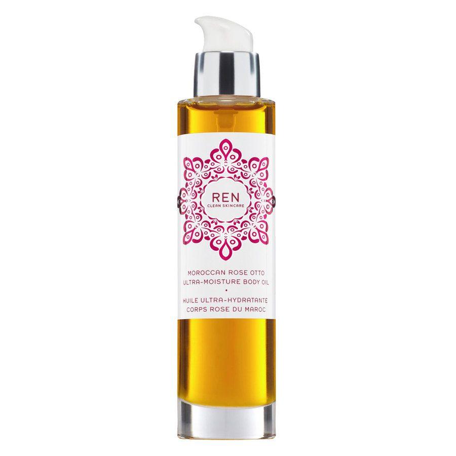 REN Clean Skincare Moroccan Rose Otto Body Ultra-Moisture Body Oil 100ml