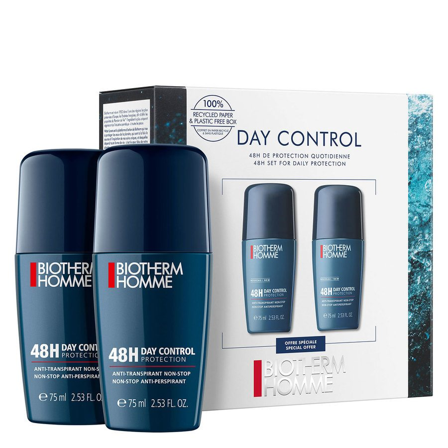 Biotherm Homme Deo Roll-On Men Duo Set 2x75ml