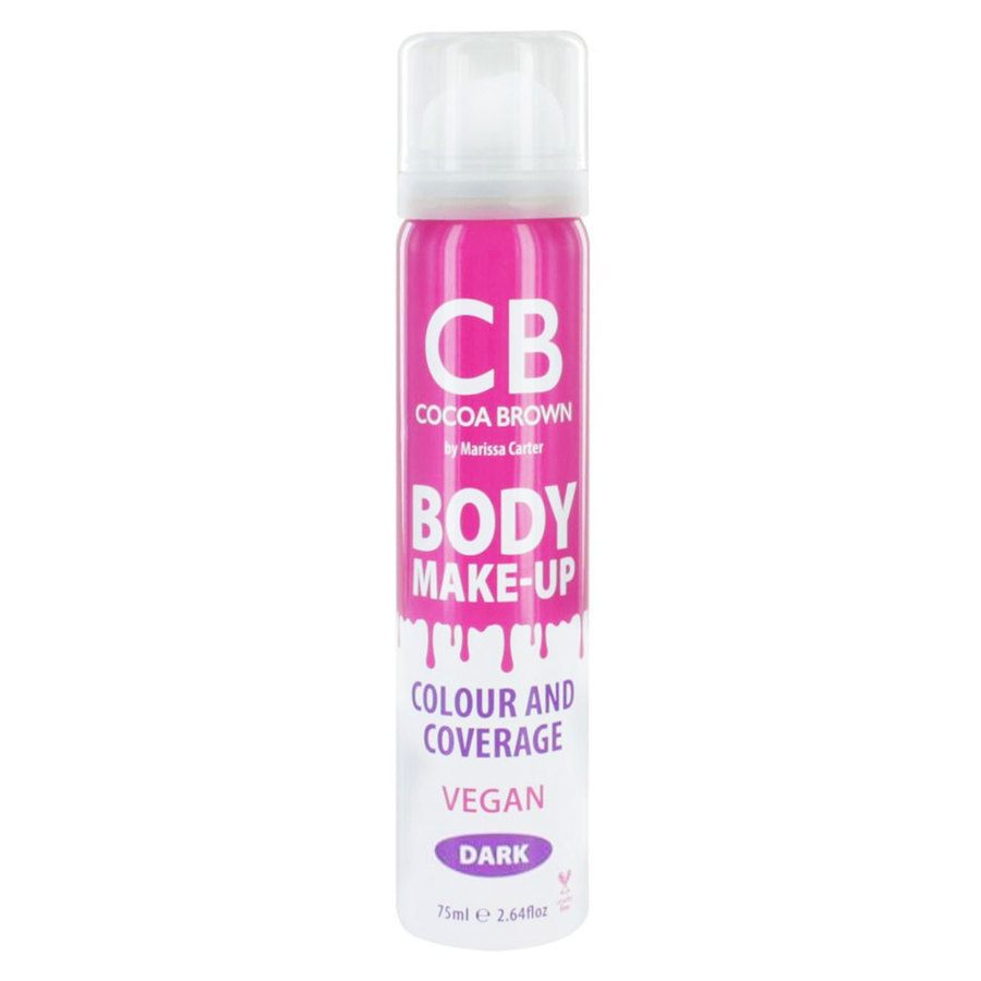 Cocoa Brown Body Make-Up Vegan Colour & Coverage Dark 75ml