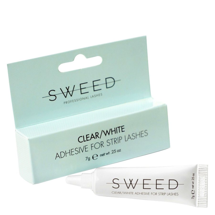 Sweed Lashes Clear/White Adhesive 7g