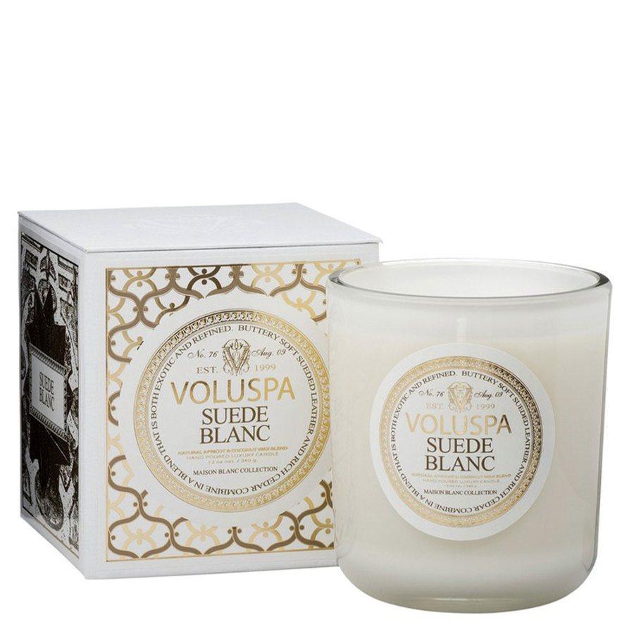 Voluspa Classic Maison Candle Suede Blanc 340g