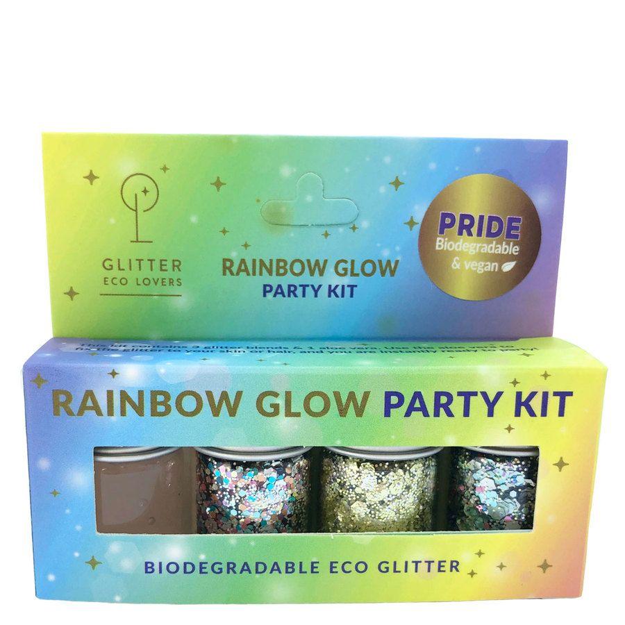Glitter Eco Lover Rainbow Glow Party Kit 24ml