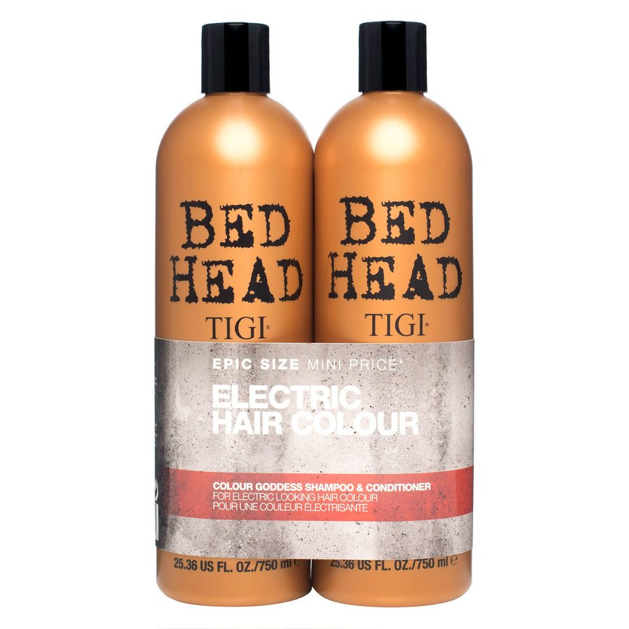Tigi Bedhead Colour Goddess Shampoo & Conditioner 2x750ml