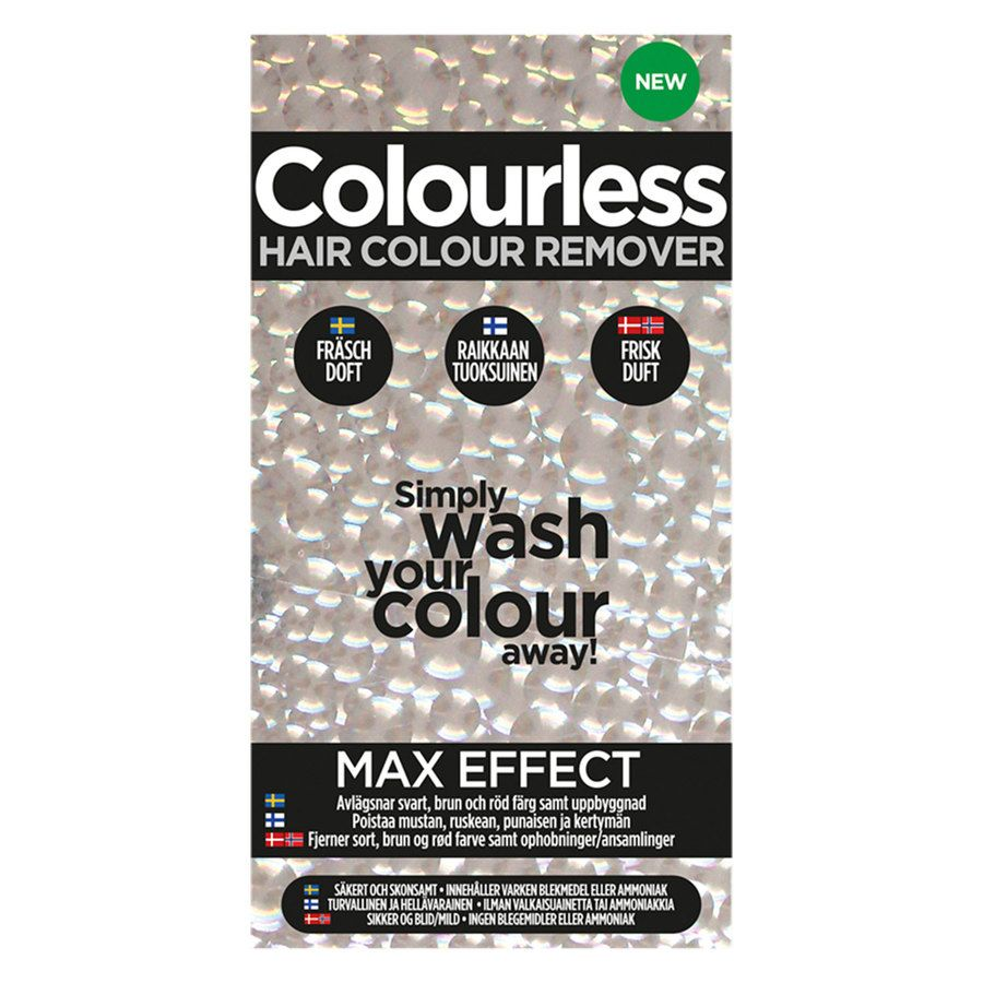 Colourless Hair Colour Remover Max Effect