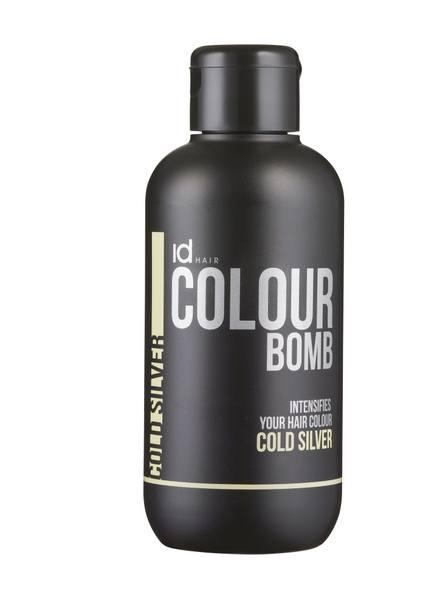 Id Hair Colour Bomb Cold Silver 250ml