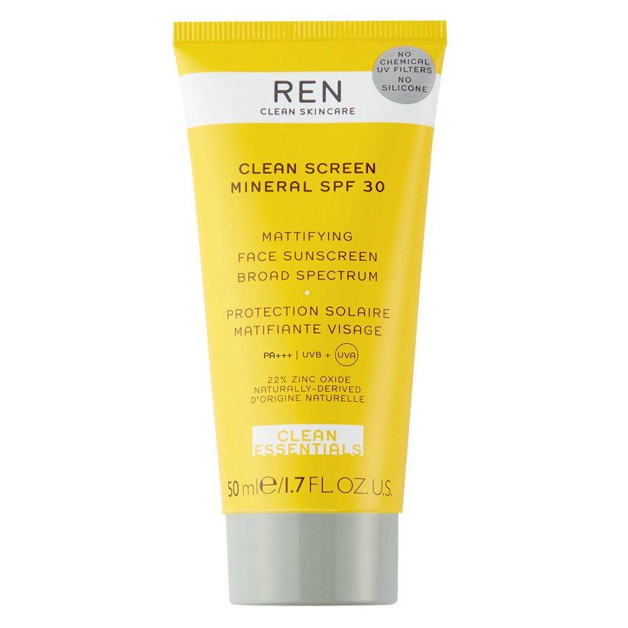 REN Clean Skincare Clean Screen Mineral SPF30 50ml