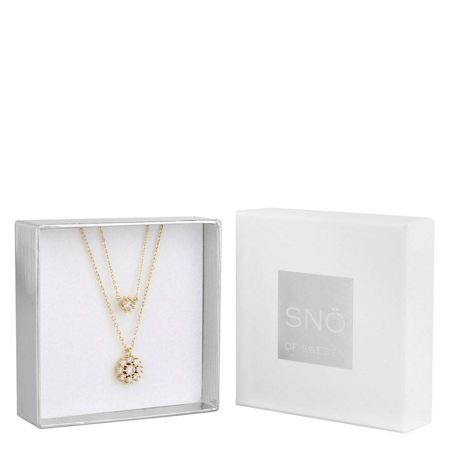 SNÖ of Sweden Crystal Vintage Neck Set 1 Gold/Clear
