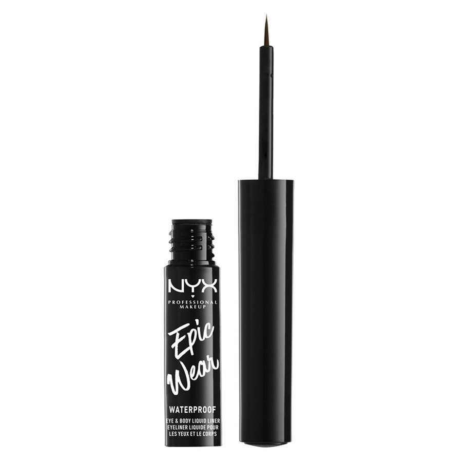NYX Professional Makeup Epic Wear Semi Permanent Eye & Body Liquid Liner Brown 1ml