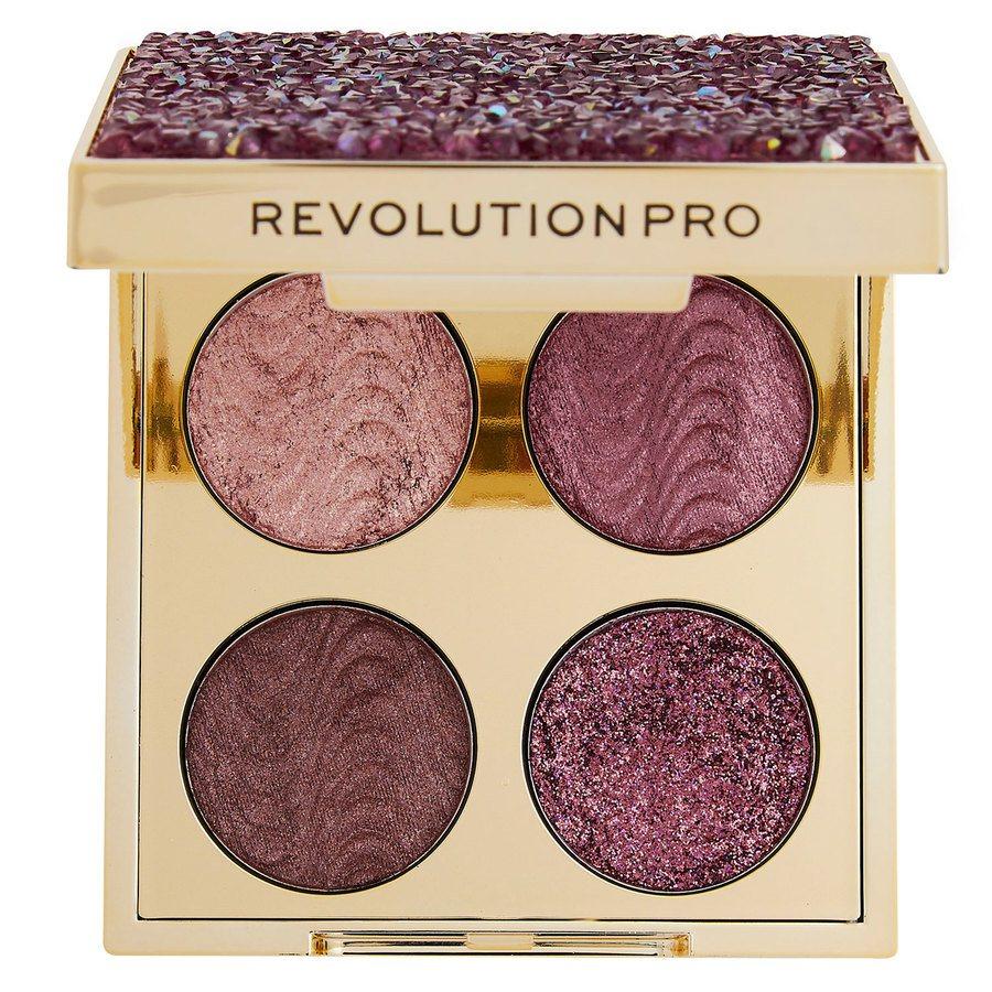 Makeup Revolution Pro Ultimate Crystal Eye Quad Pink Topaz 4x0,8g