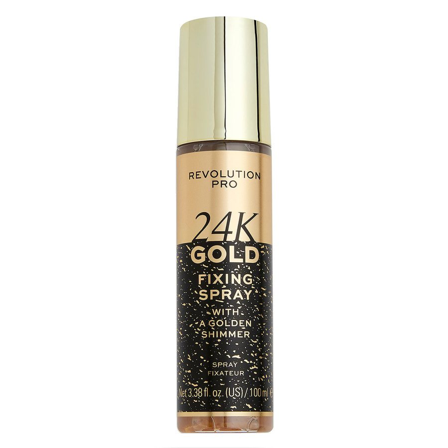 Makeup Revolution Pro 24K Gold Setting Spray 100ml