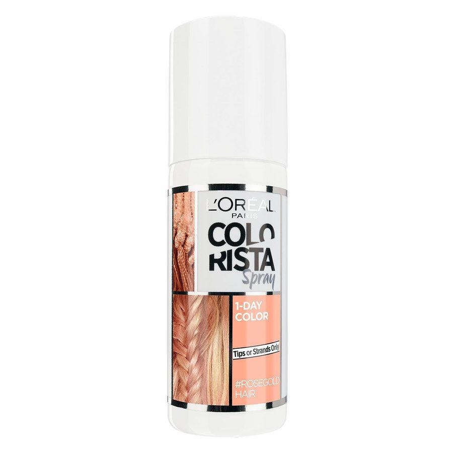L'Oréal Paris Colorista 1 Day Spray Rose Gold 75ml