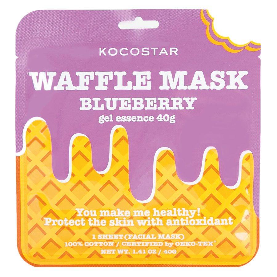 Kocostar Waffle Mask Blueberry 40g
