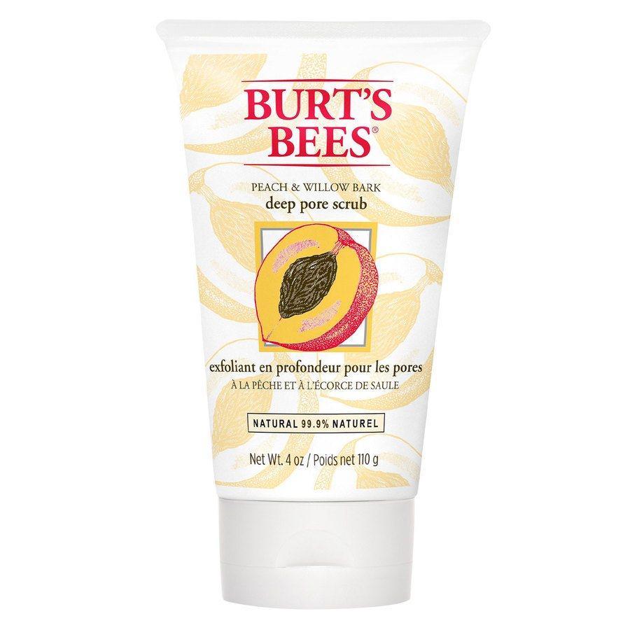 Burt`s Bees Peach & Willowbark Deep Pore Scrub 110g