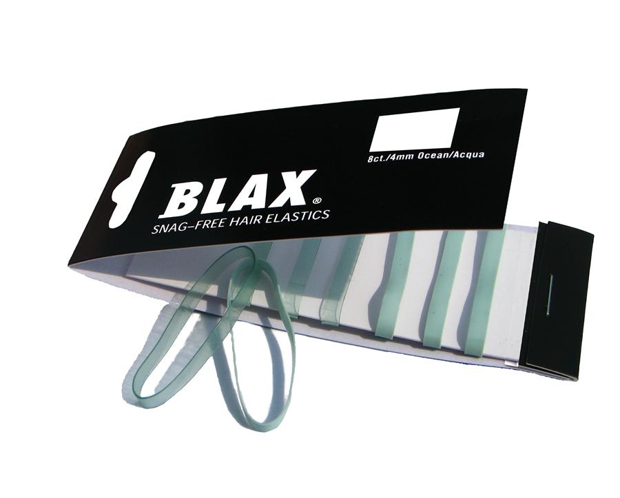 Blax Snag Free Hair Elastics Ocean 8stk