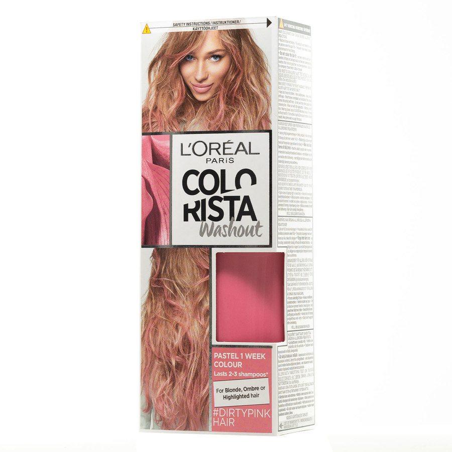 L'Oréal Paris Colorista 2 Weeks Wash Out 3 Dirty Pink 80ml