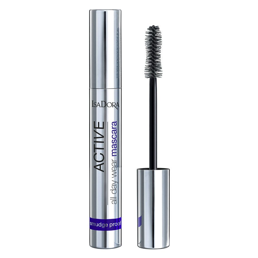 IsaDora Active All Day Wear Mascara #20 Deep Black 12ml
