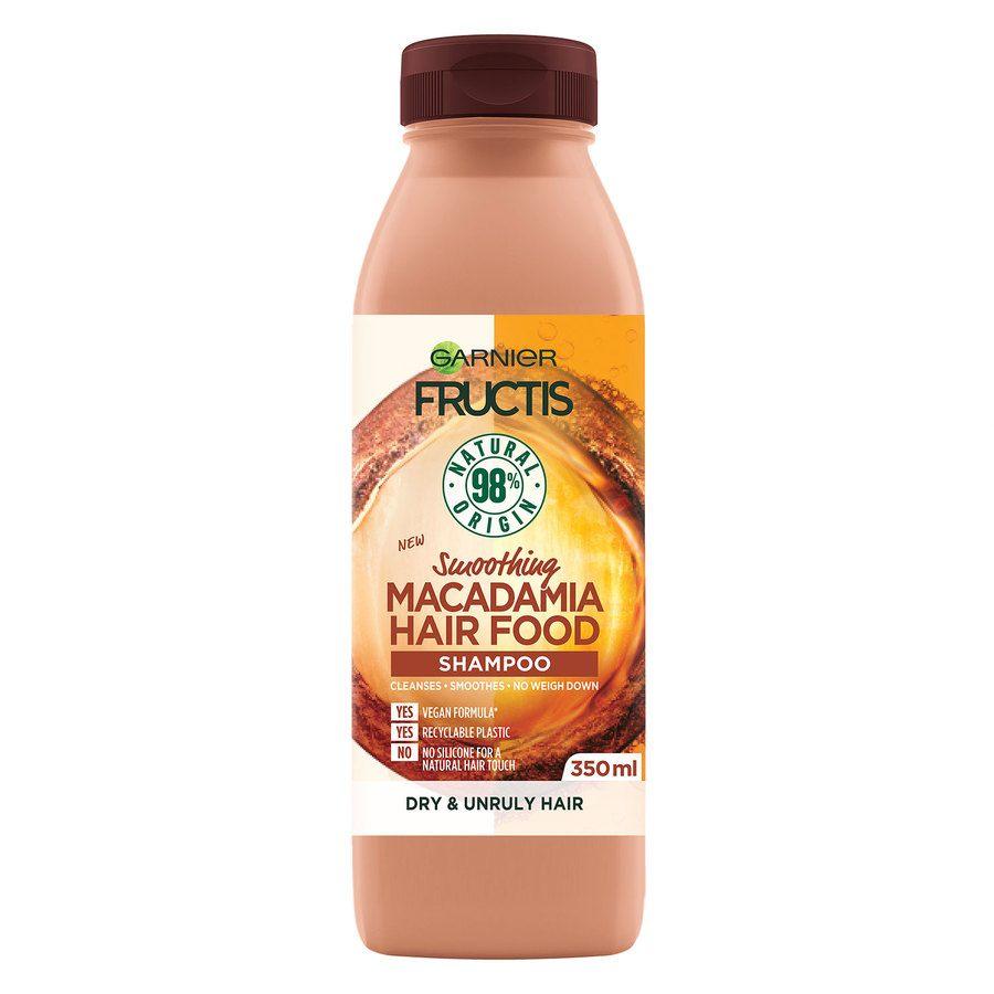 Garnier Fructis Hair Food Shampoo Macadamia 350ml
