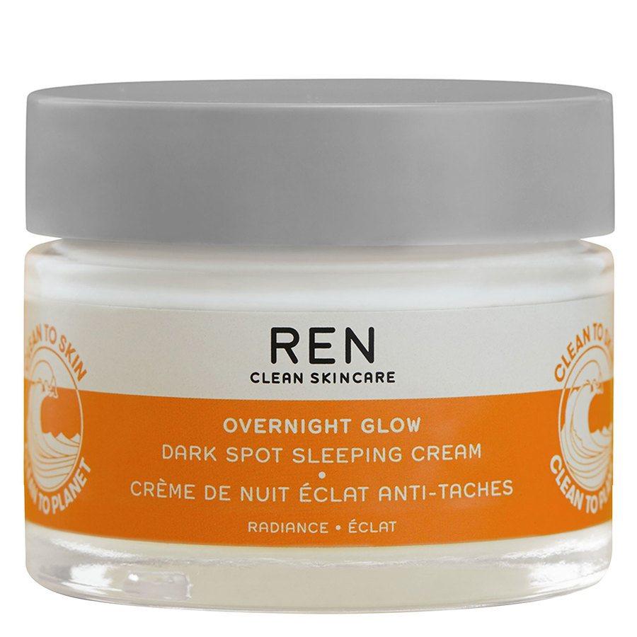 REN Clean Overnight Glow Dark Spot Sleeping Cream 50ml