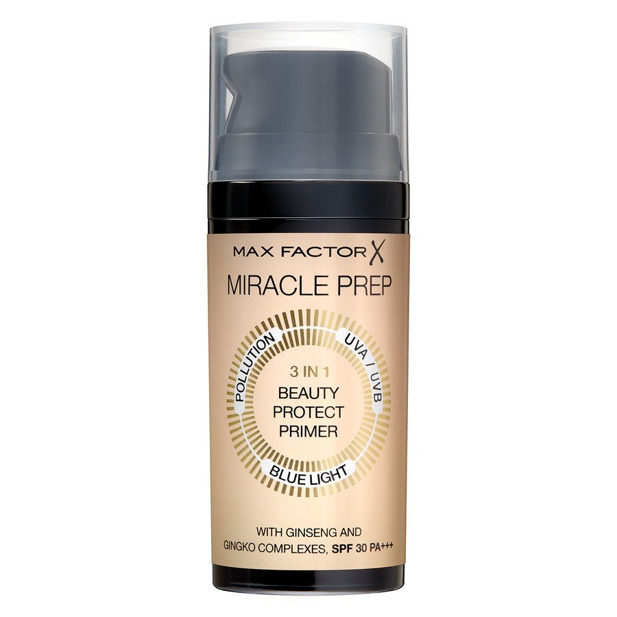 Max Factor Miracle Beauty 3 in 1 Prep Primer SPF30 30ml