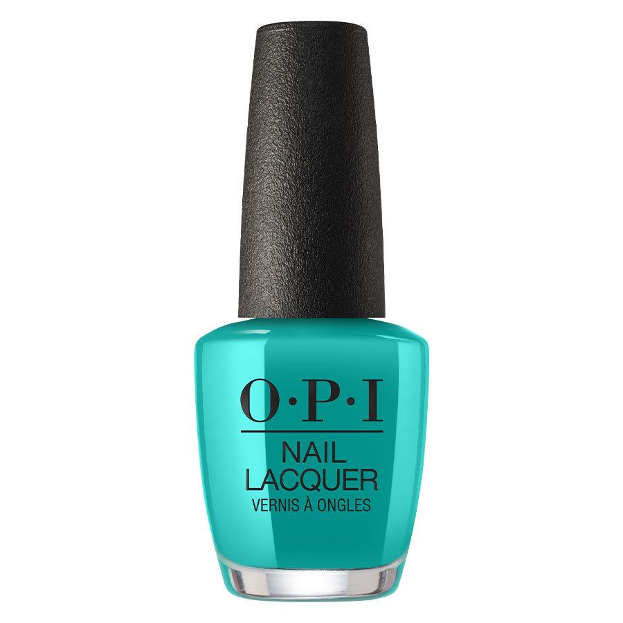 OPI Neon Collection Nail Lacquer NLN74 Dance Party 'Teal Dawn 15ml