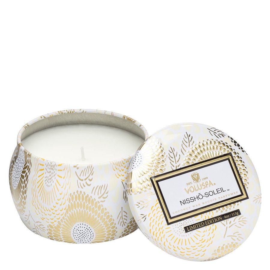 Voluspa Decorative Tin Candle Nissho Soleil 113g