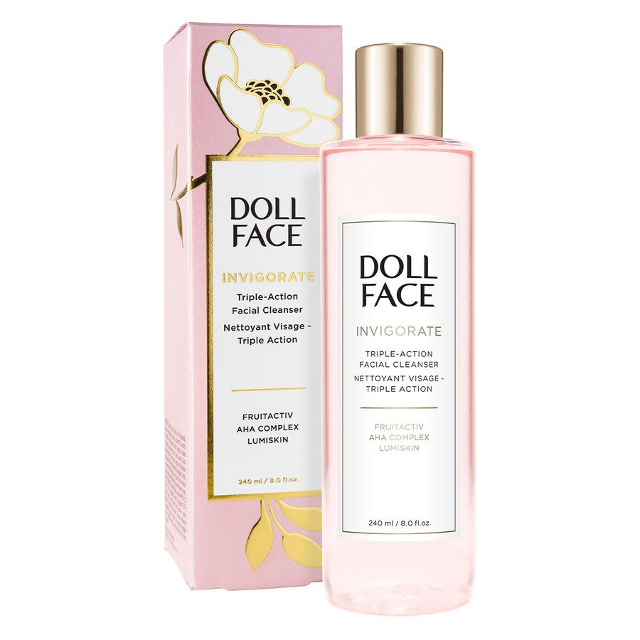 Doll Face Invigorate Triple-Action Facial Cleanser 240ml