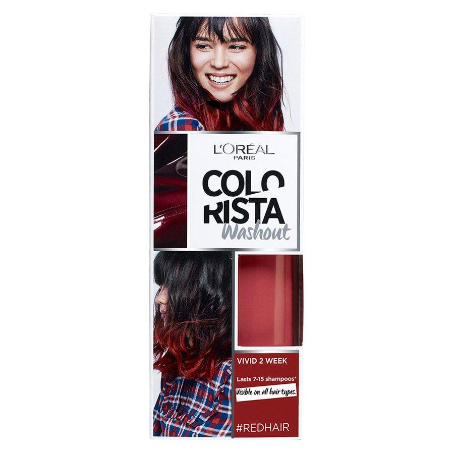 L'Oréal Paris Colorista 2 Weeks Wash Out 12 Red 80ml