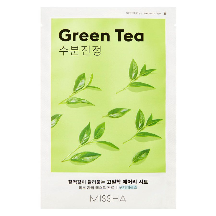 Missha Airy Fit Sheet Mask Green Tea 19g