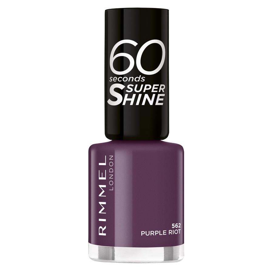 Rimmel London 60 Seconds Super Shine 562 Purple Riot 8ml