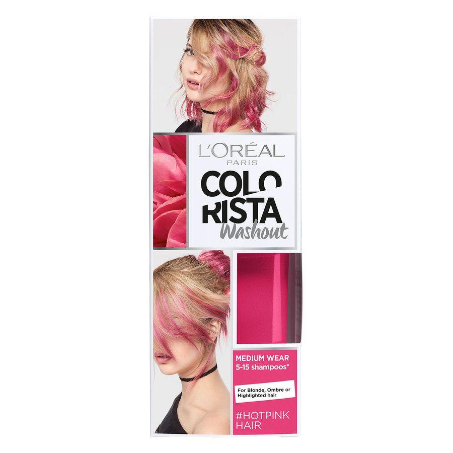 L'Oréal Paris Colorista 2 Weeks Wash Out 15 Hot Pink 80ml