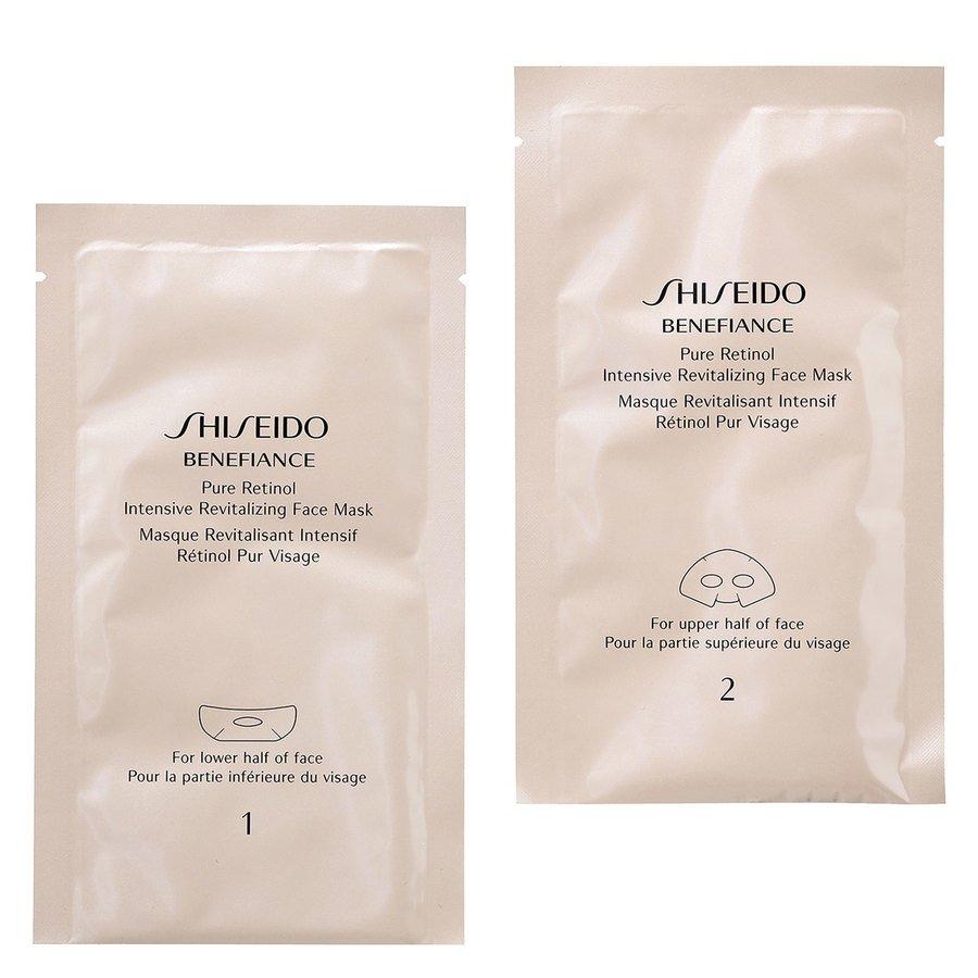 Shiseido Pure Retinol Intensive Revitalizing Face Mask 4*2stk