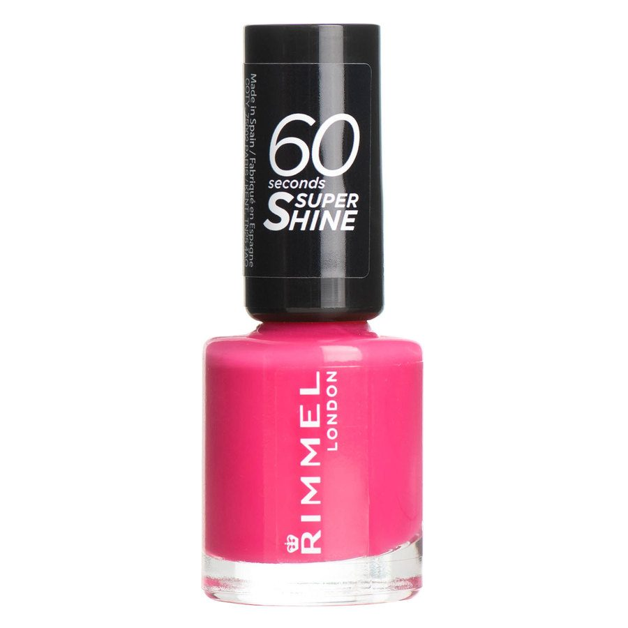 Rimmel London 60 Seconds Super Shine Nail Polish #322 Neon Fe 8ml