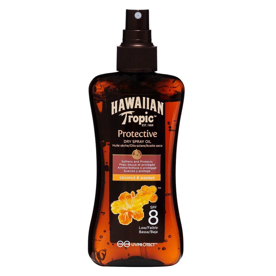 Hawaiian Tropic Protective Dry Spray Oil SPF8 200 ml