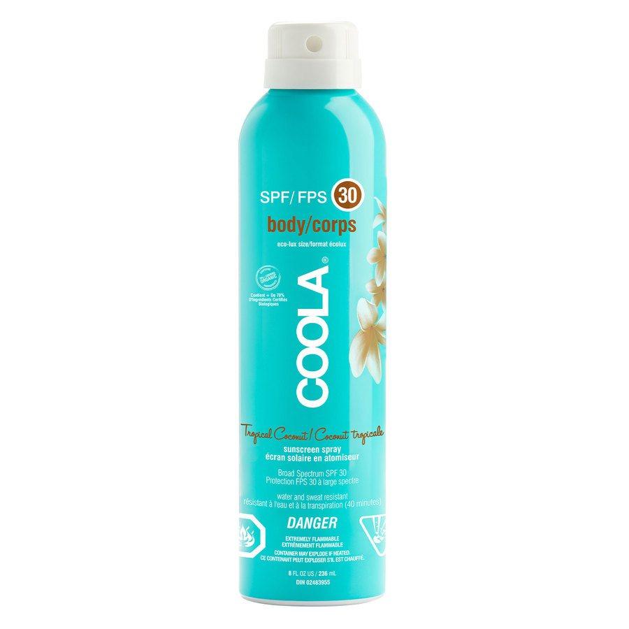 Coola Spray SPF30 Tropical Coconut 236ml