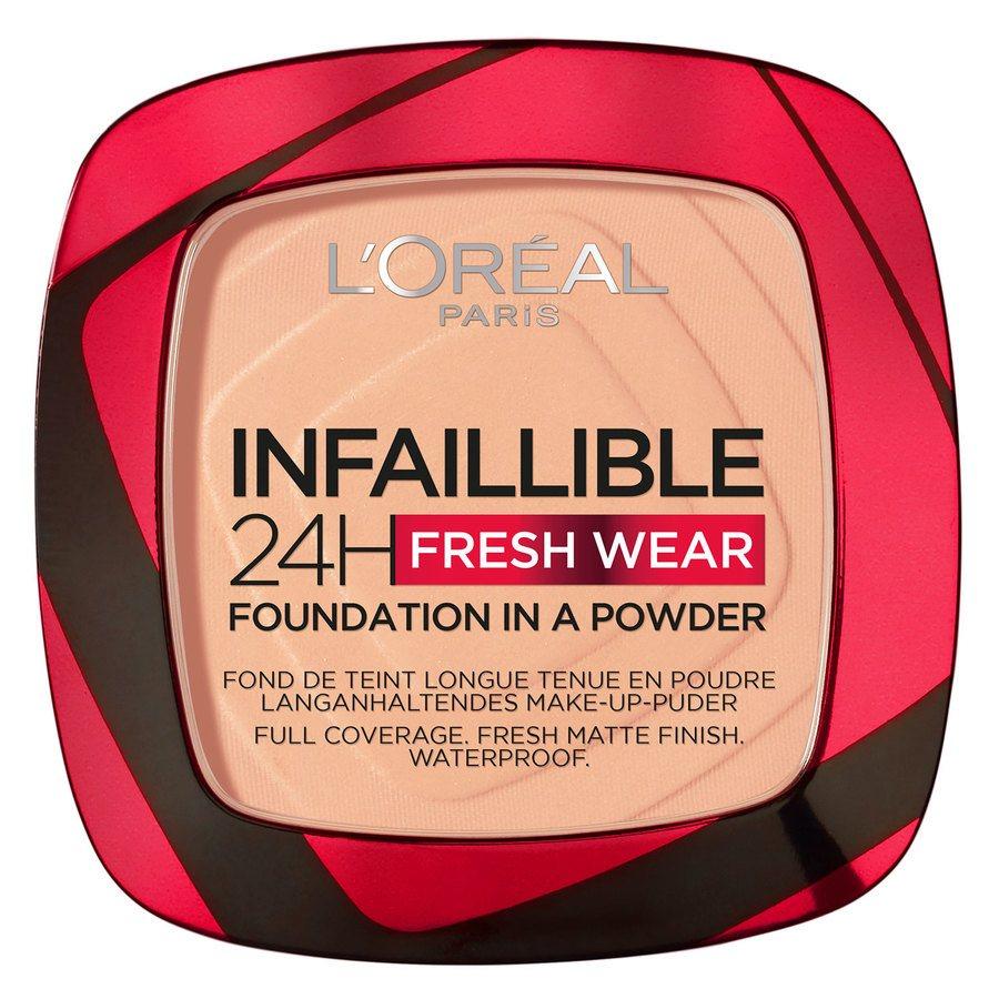 L'Oréal Paris Infaillible 24H Fresh Wear Foundation In A Powder Golden Honey 9g