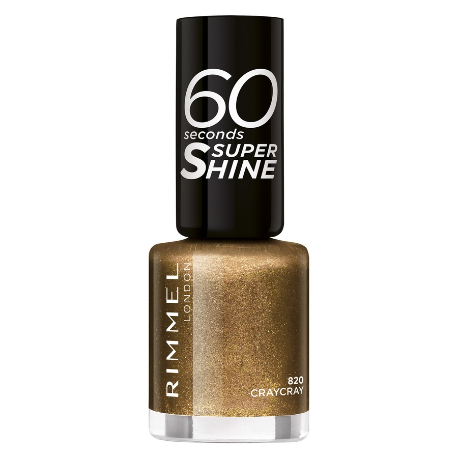 Rimmel London 60 Seconds Super Shine 820 Craycray 8ml