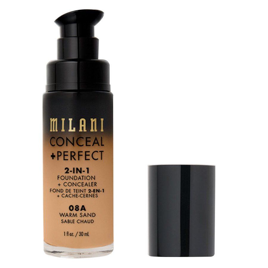 Milani Cosmetics Conceal+ Perfect 2-In-1 Foundation + Concealer Warm Sand 30ml