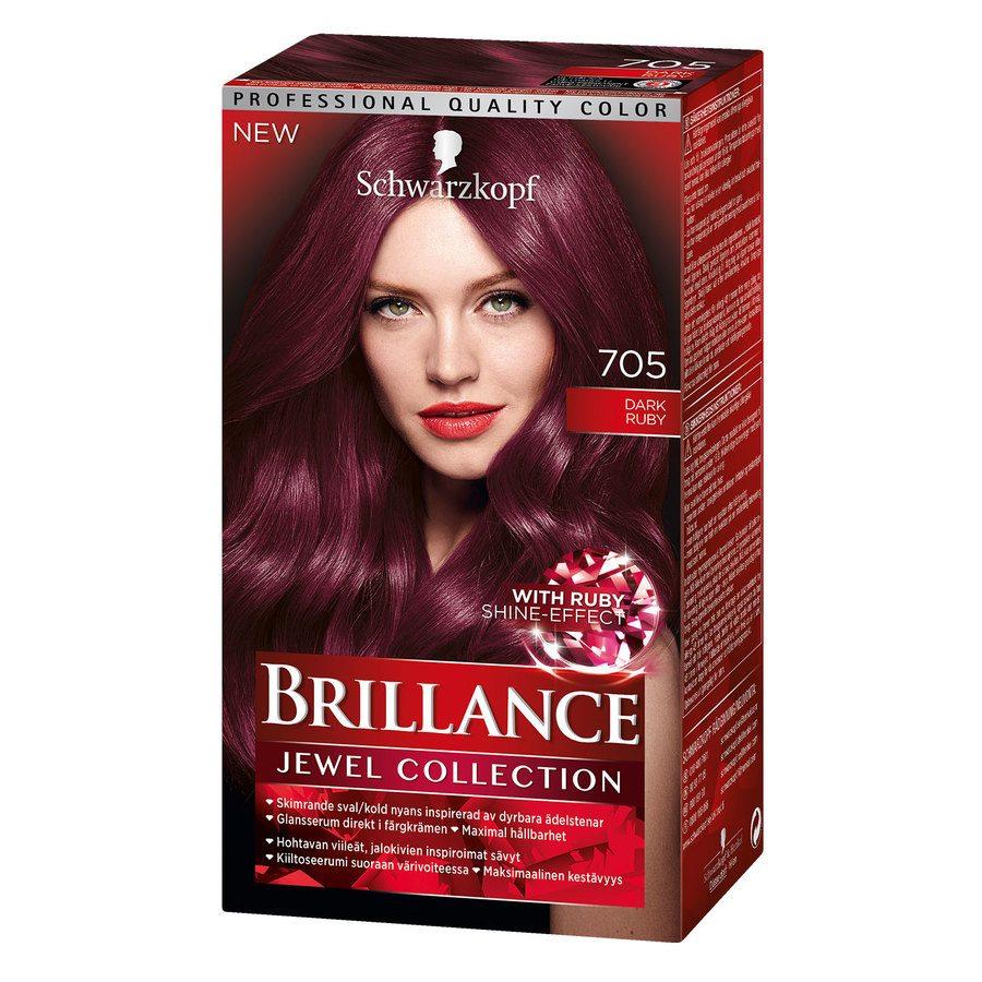 Schwarzkopf Brillance Intensive Color Creme 705 Dark Ruby