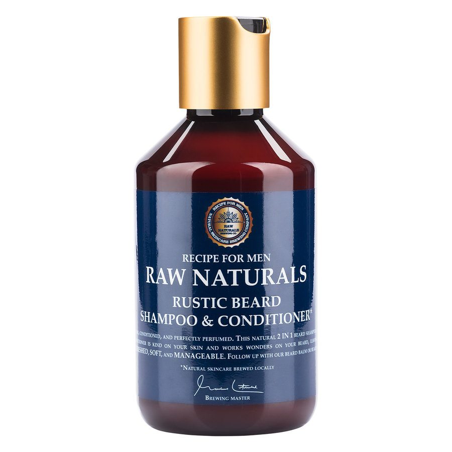 Raw Naturals Rustic Beard Shampoo & Conditioner 250ml