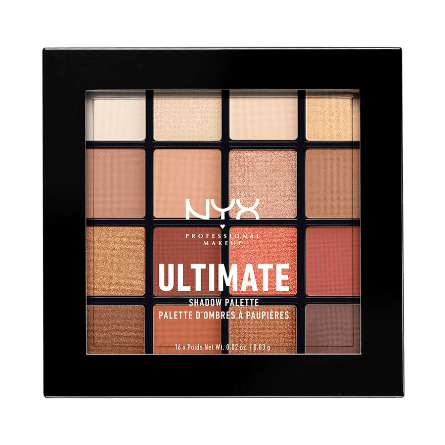 NYX Professional Makeup Ultimate Eyeshadow Palette Warm Neutrals USP03
