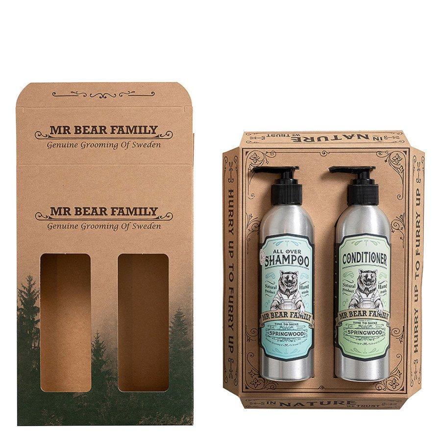 Mr Bear Family Kit Shampoo & Conditioner 2x250ml