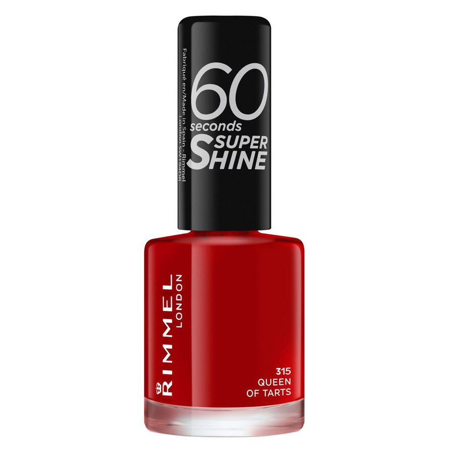 Rimmel London 60 Seconds Super Shine Nail Polish #315 Queen Of Tarts 8ml