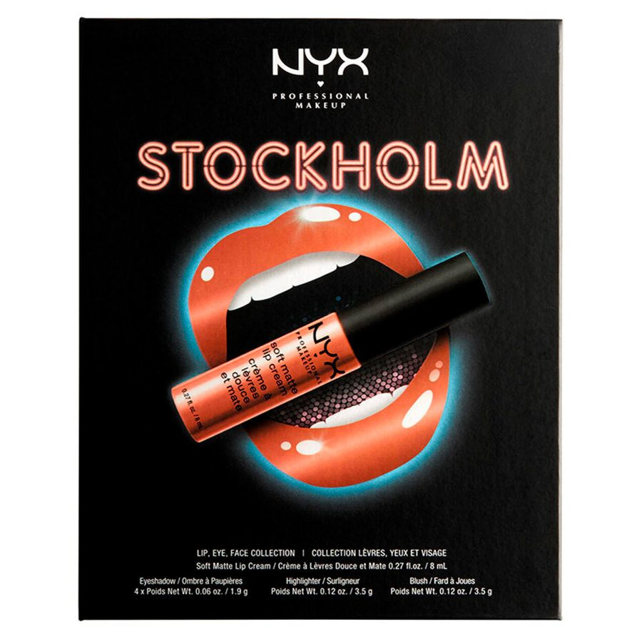 NYX Professional Makeup City Set Stocholm