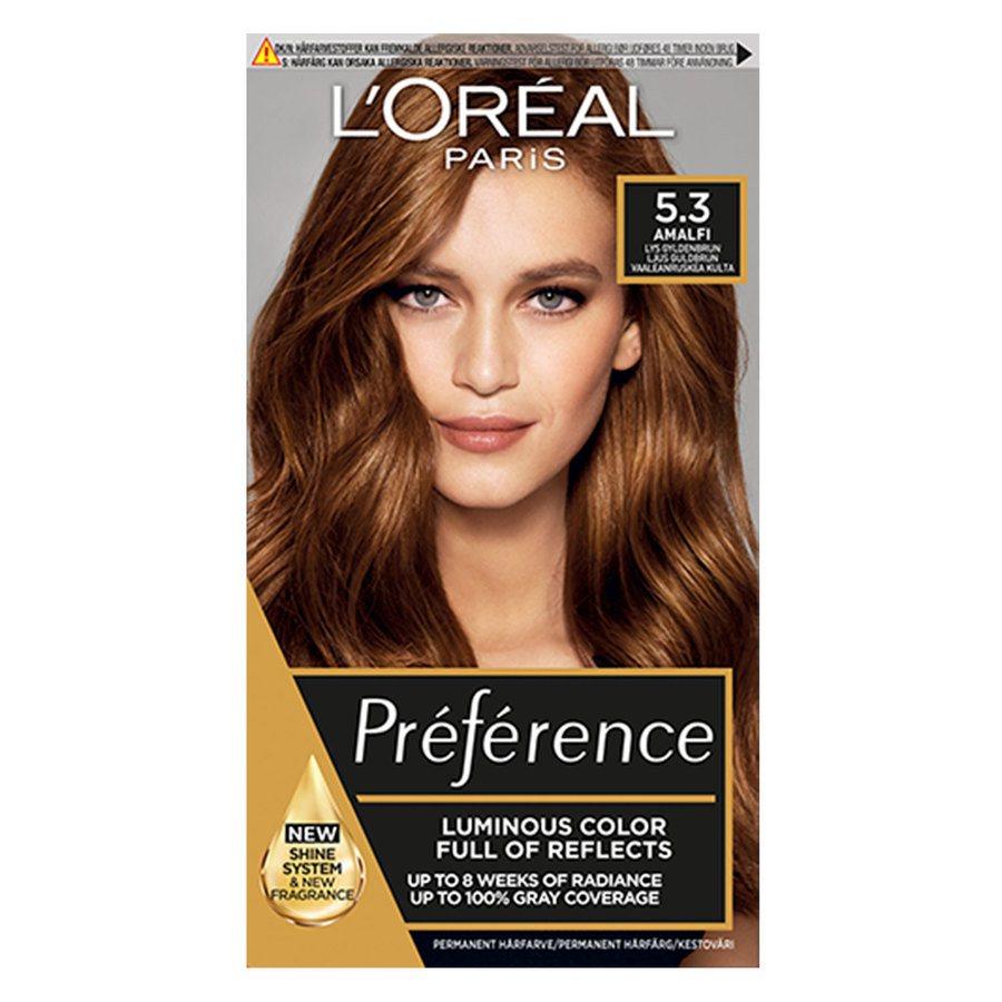 L'Oréal Paris Préférence Core Récital 5.3