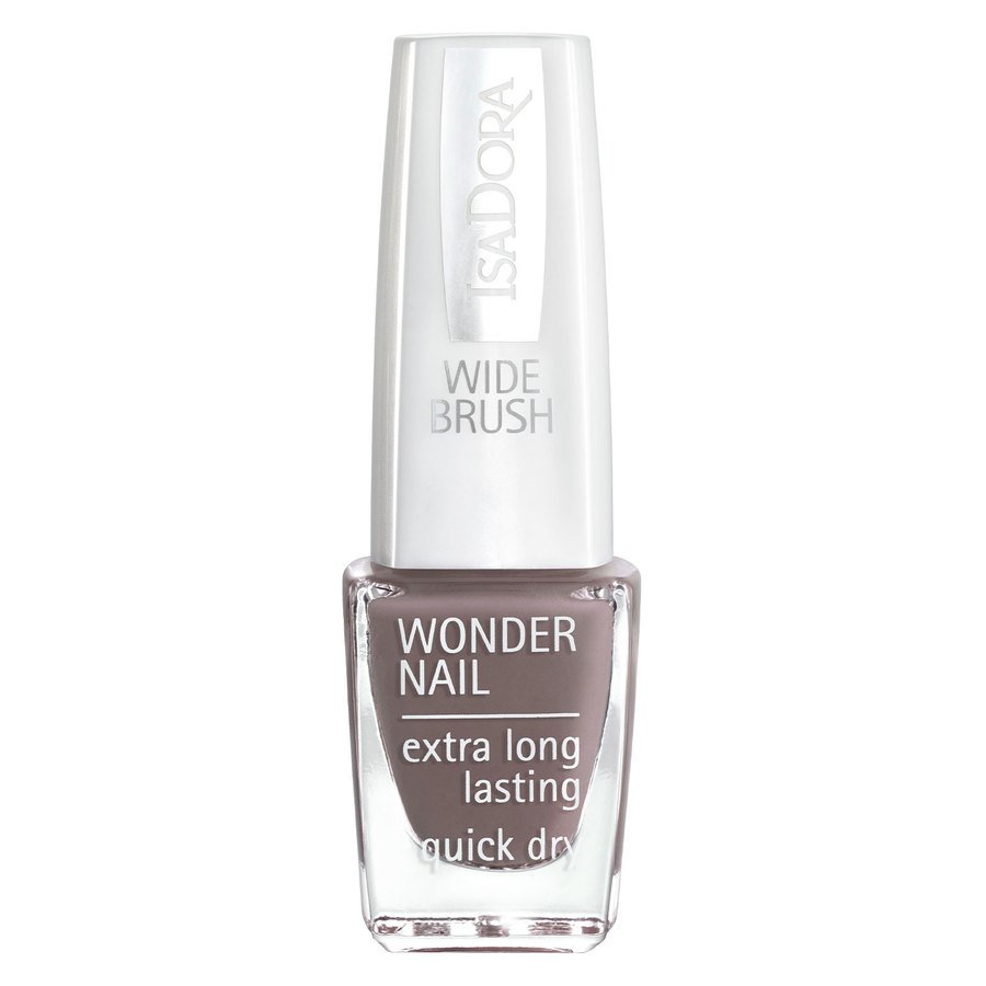 IsaDora Wonder Nail Wide Brush #611 Muddy Waters 6ml