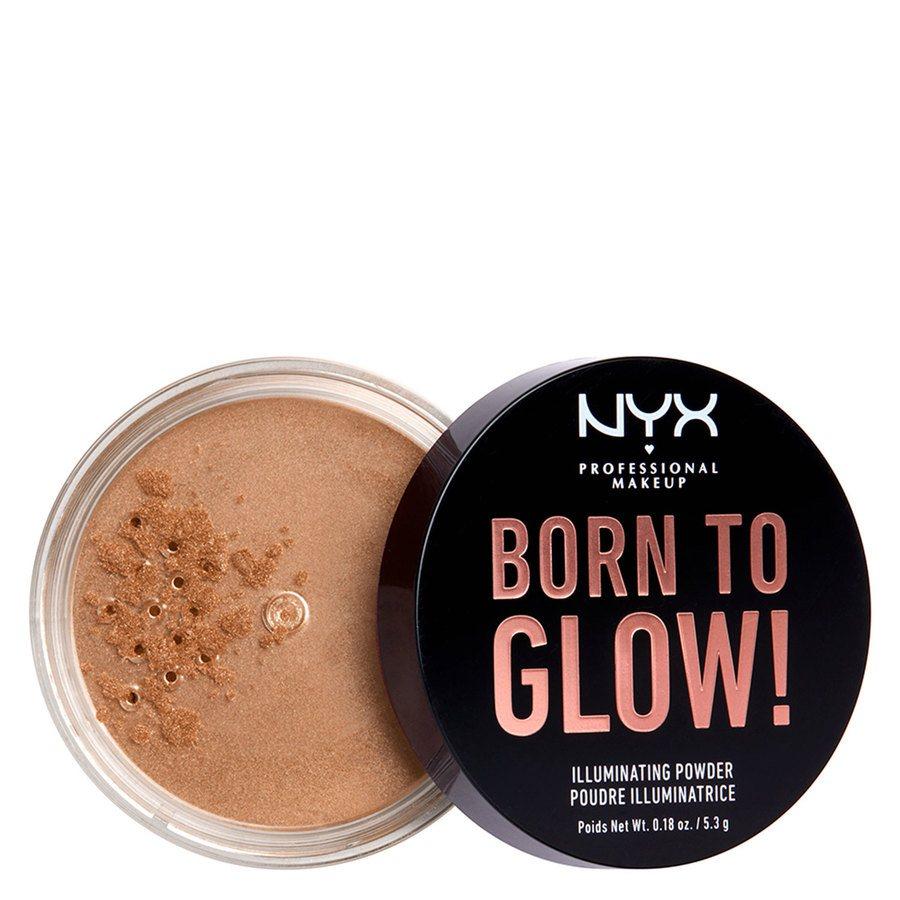 NYX Professional Makeup Born To Glow Illuminating Powder Warm Strobe 5,3g