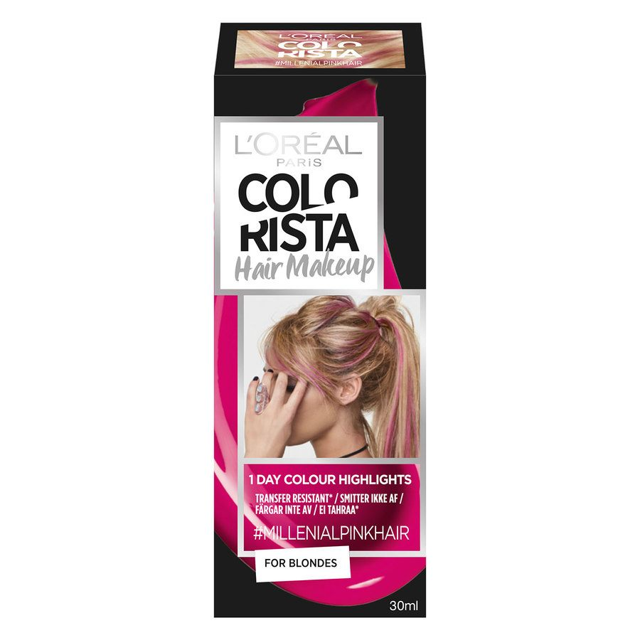 L'Oréal Paris Colorista Hair Makeup 5 Millenial