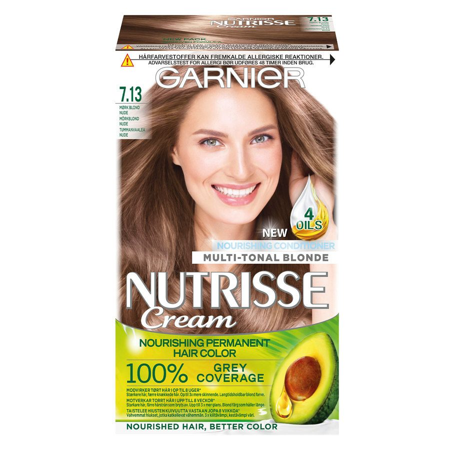 Garnier Nutrisse Cream 7.13