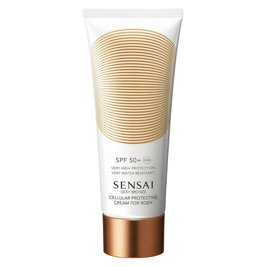 Sensai Silky Bronze Cellular Protective Cream For Body SPF50+ 150ml