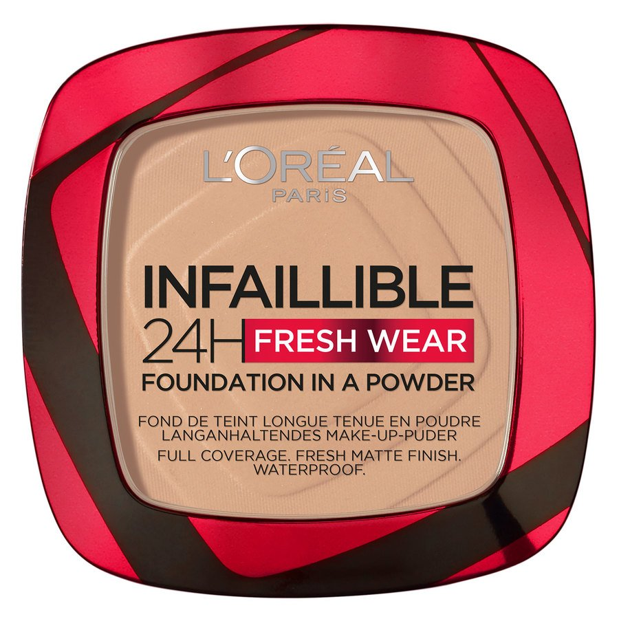 L'Oréal Paris Infaillible 24H Fresh Wear Foundation In A Powder Vanilla 9g